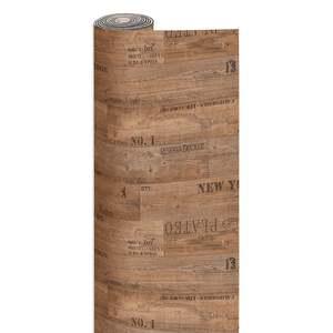 PVC-Bodenbelag PRESTO - Planke beschriftet - 3 Meter