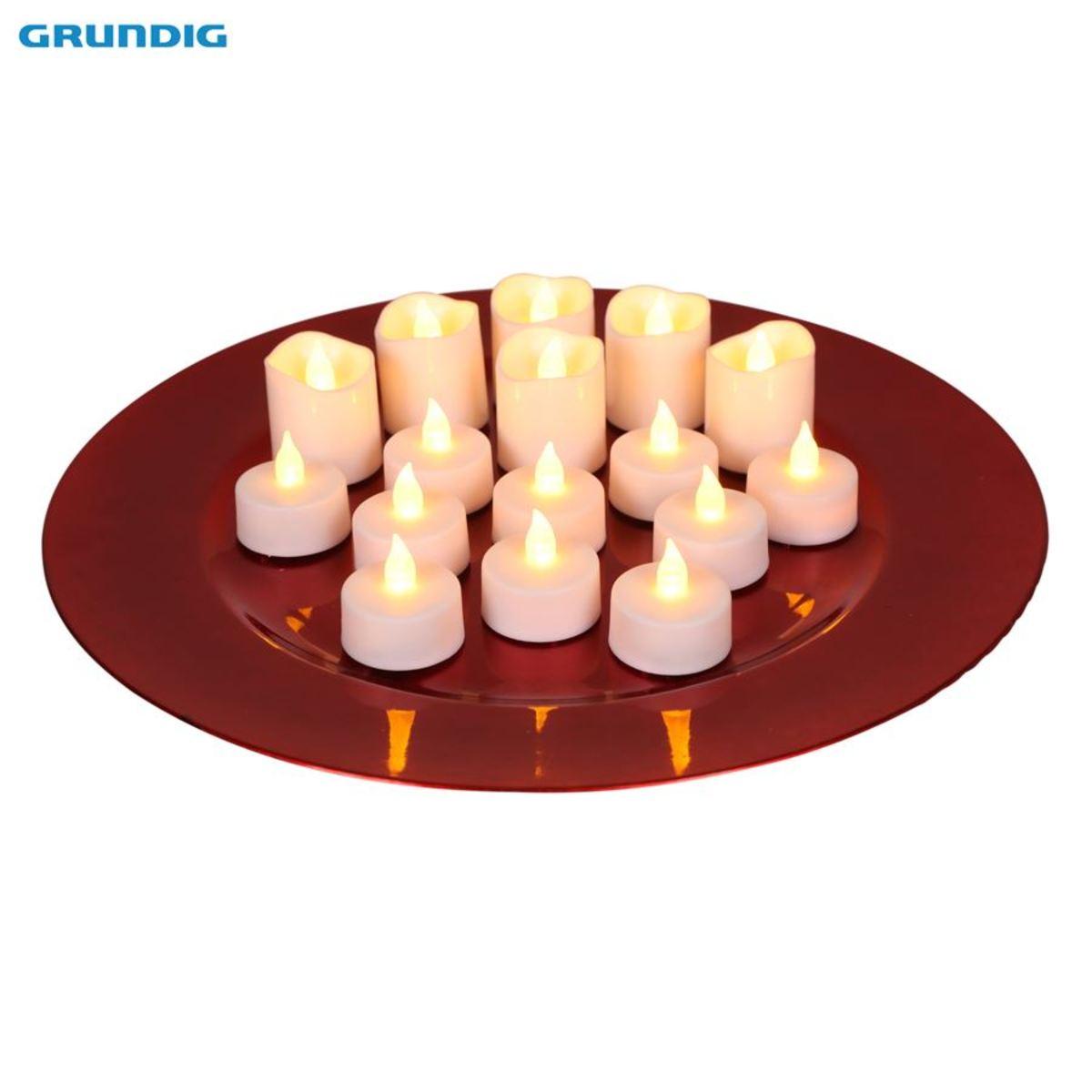 Bild 1 von Grundig LED-Teelichter-Set 16-teilig