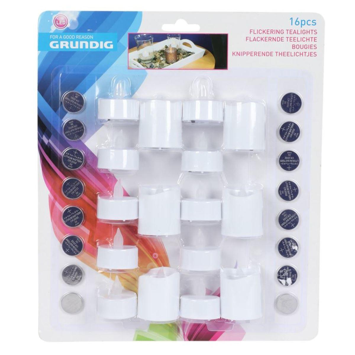 Bild 2 von Grundig LED-Teelichter-Set 16-teilig