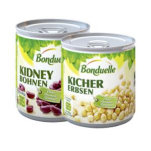 Bonduelle Kidney Bohnen, Kichererbsen, weisse Bohnen oder Linsen