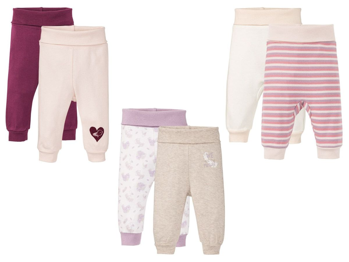 Bild 1 von LUPILU® PURE COLLECTION 2 Baby Mädchen Schlupfhosen
