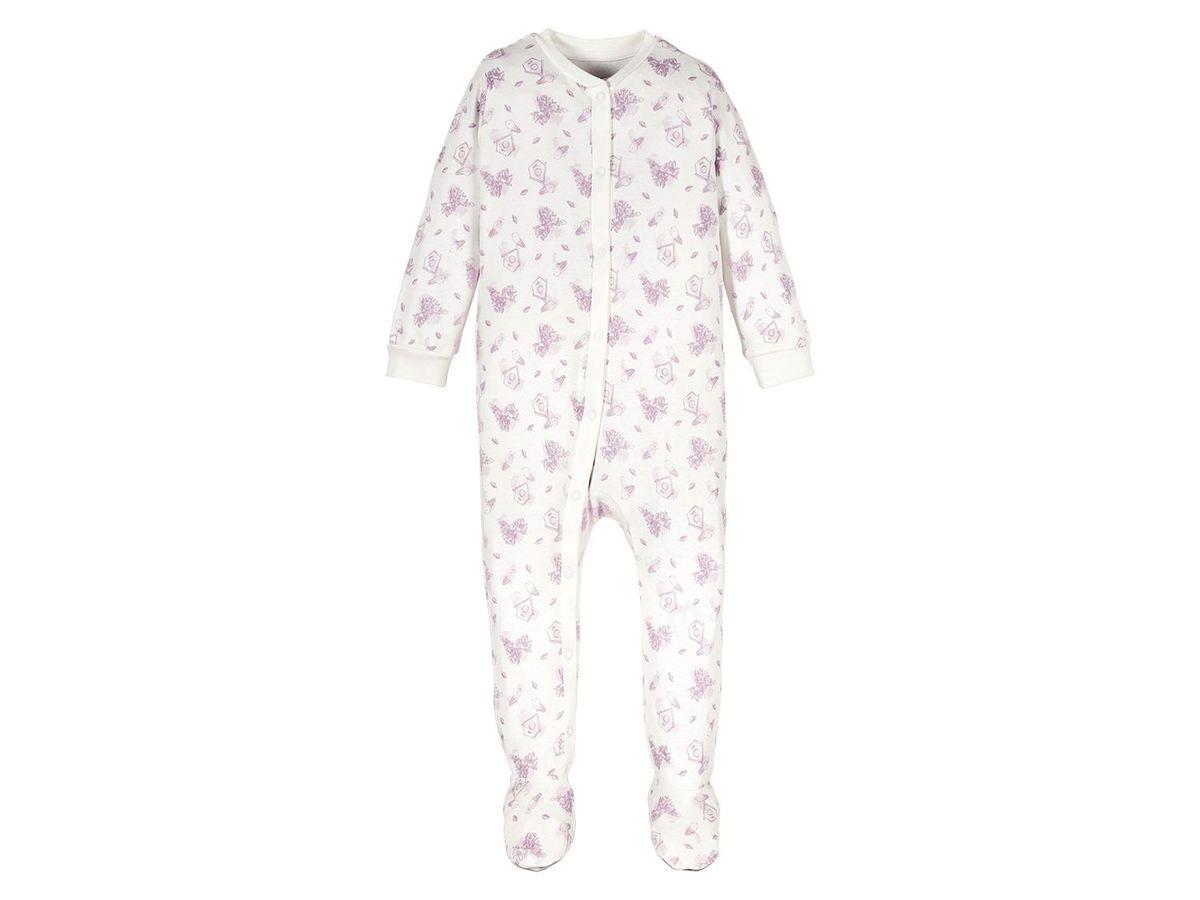 Bild 2 von LUPILU® PURE COLLECTION Baby Mädchen Schlafoverall