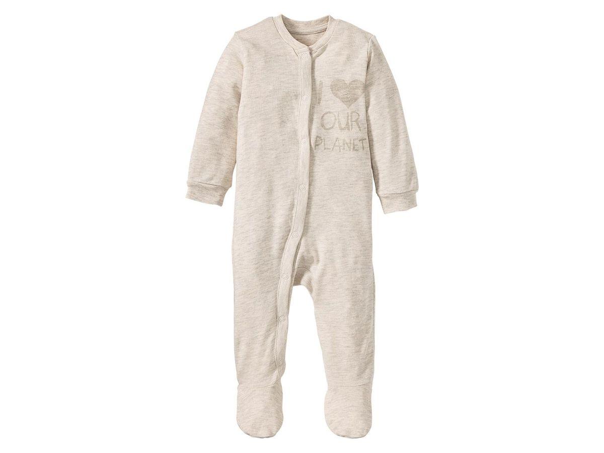 Bild 4 von LUPILU® PURE COLLECTION Baby Mädchen Schlafoverall