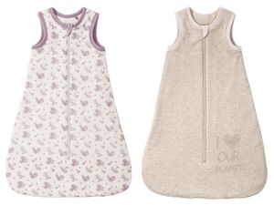 LUPILU® PURE COLLECTION Baby Mädchen Schlafsack