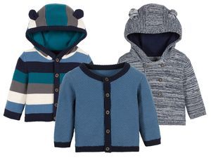 LUPILU® PURE COLLECTION Baby Jungen Strickjacke