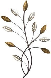 Wanddeko - Baum - aus Metall - 50 x 2 x 80 cm