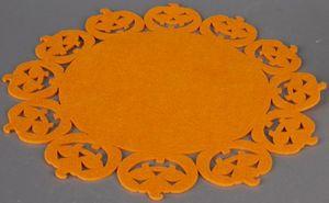 Platzset - Kürbis - aus Polyester - Ø = 35 cm