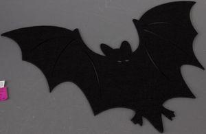 Platzmatte - Fledermaus - aus Filz - 49 x 34 cm