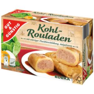 Gut & Günstig Kohl-Rouladen