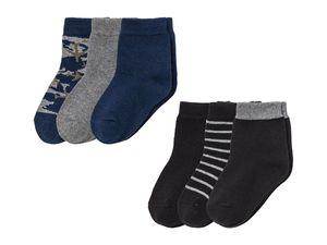 LUPILU® BY CHEROKEE Kleinkinder Jungen 3 Paar Socken
