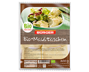 BÜRGER Bio-Maultaschen