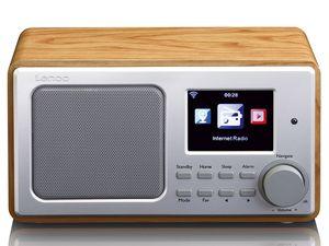 Lenco DIR-100 Internet Radio für Radiosender aus aller Welt WLAN-Verbindung, Wiedergabe von USB