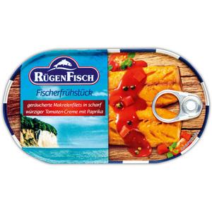 Rügenfisch Geräucherte Makrelenfilets
