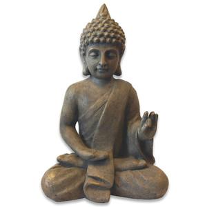 Deko-Figur »Buddha« sitzend und meditierend ca. 54 cm Gussbeton