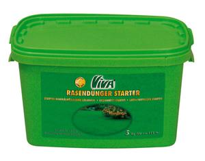 Rasen Dünger Starter, 5 kg Eimer Viva