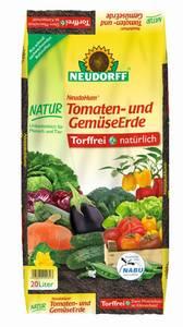 Tomaten- und Gemüseerde NeudoHum, 20 l Neudorff