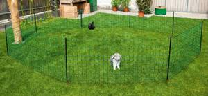 Kaninchen Netz, 50 m lang, 65 cm hoch - Farbe grün