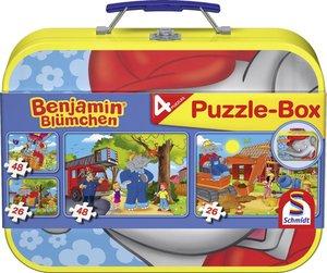 Schmidt Spiele Benjamin Blümchen Puzzle-Box