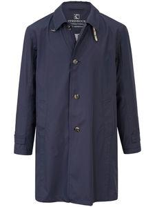 Knitterarmer Mantel Steinbock blau