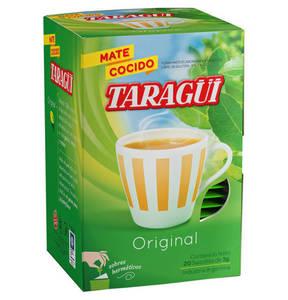 Mate Taragui in Tee-Beutel.