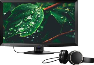 Lenovo C24-10 LED-Monitor (1920 x 1080 Pixel, Full HD, 1 ms Reaktionszeit)