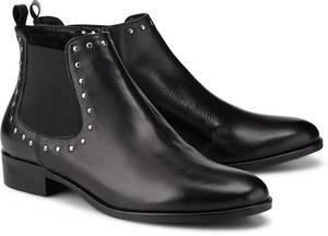 Chelsea-Boots von Belmondo in schwarz für Damen. Gr. 39