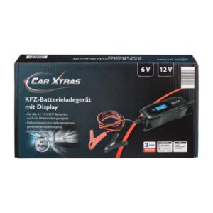 CAR XTRAS     Auto-/Motorrad-Batterieladegerät