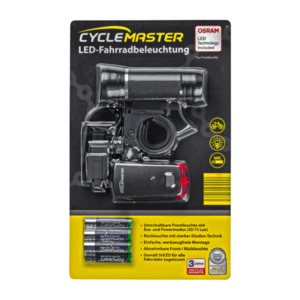 CYCLEMASTER  	   LED-Fahrradbeleuchtung