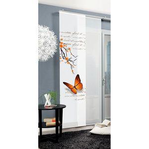 Schiebevorhang Butterfly - Orange, Home Wohnideen