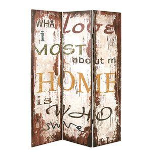Paravent Love Most Vintage, Home Design