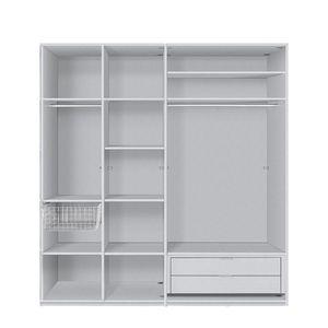 Zubehörset für Express Kleiderschränke I - 200 cm (2-türig) - Comfort, Express Möbel