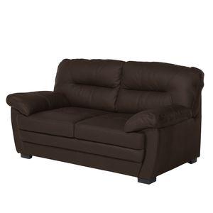 Sofa Royale (2-Sitzer) Kunstleder - Bisonbraun, Cotta