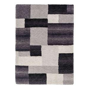 Teppich Livorno - Schwarz - 90 x 160 cm, Astra