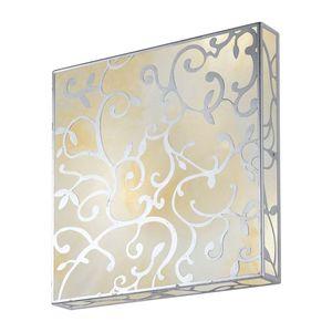 EEK A, Wandleuchte Fiorella Gold - Metall/Glas - Rost-Antik/Gold - 1-flammig, Hans Kögl