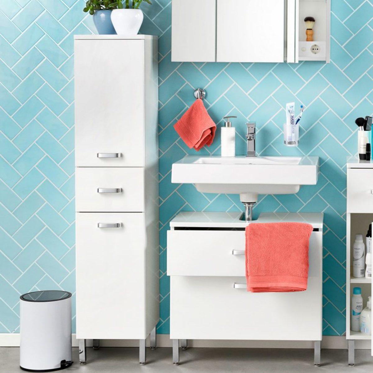 Bild 2 von HOME CREATION     Badezimmer-Hochschrank