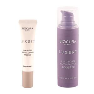BIOCURA     Luxuriöse(r) Augen & Lippen-Pflege / Anti-Falten Booster