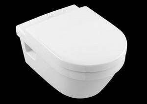 V&B Wand-Tiefspül-WC Omnia Architectura ,  weiß, spülrandlos