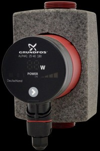 Grundfos Hocheffizienz-Pumpe Alpha 1 25/40