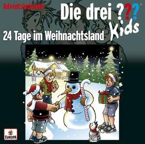 Die drei ??? Kids 24 Tage im Weihnachtsland (drei Fragezeichen) 2 CDs
