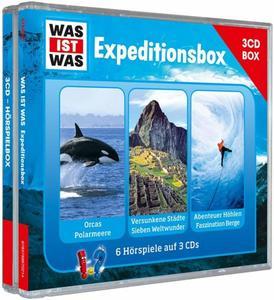 WAS IST WAS 3-CD-Hörspielbox: Expedition