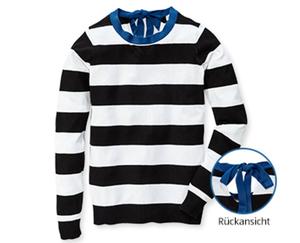 BlueMotion Pullover, geringelt