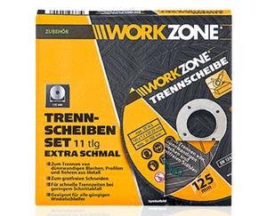 WORKZONE®  Trennscheiben-Set