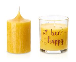 CASA Deco Bienenwachs-Kerzen
