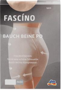 FASCÍNO Figurhöschen teint, Gr. 48/50, 1 St