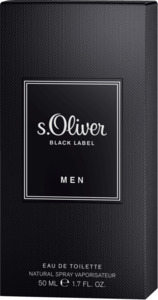 s.Oliver Eau de Toilette Black Label Men