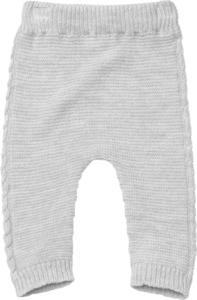 ALANA Baby-Wollhose, Gr. 62, in Bio-Wolle, grau, für Mädchen und Jungen