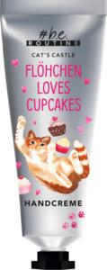 b.e. routine Handcreme Cat´s Castle Flöhchen´s loves Cupcakes