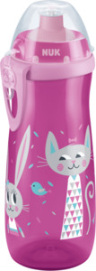 Nuk Flasche Sports Cup, ab 36 Monate, 450ml, Hase/Katze