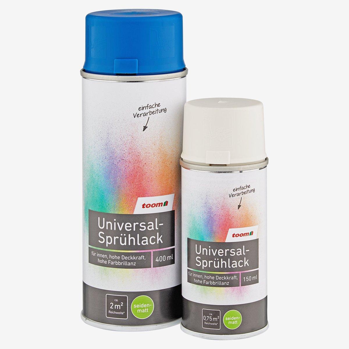 Bild 1 von toomEigenmarken -              Universal-Sprühlack seidenmatt grau 150 ml