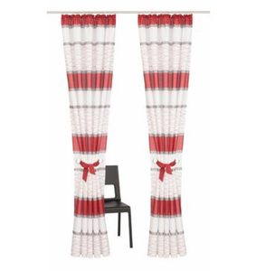 Vorhang »Maria«, my home, Kräuselband (2 Stück)